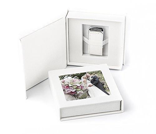 codiarts. USB 3.0 Stick 16GB in Eleganter USB-Box mit Bildfenster. für Hochzeit, Fotografen, Urlaubserinnerungen, Geschenk