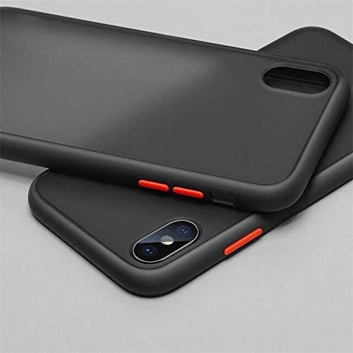 Dbspark Present Xiaomi Redmi Mi Y2 TPU Rubber Smoke Color Button Translucent Shock Proof Smooth Rubberized Matte Hard Back Cover Case For Xiaomi Redmi Mi Y2 Black