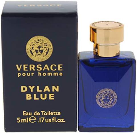 Versace Dylan Blue Mini Eau de Toilette Splash for Men 0 17 Ounce product image