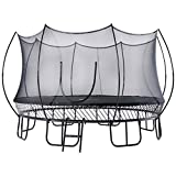 FreeJump Springless Trampoline with Safety Net Enclosure, Ladder (15 FT) –Heavy Duty Spring Free Outdoor Trampoline for Kids, Adults for Ultimate Safety – Full Surface Bounce, Quick & Easy Assembly