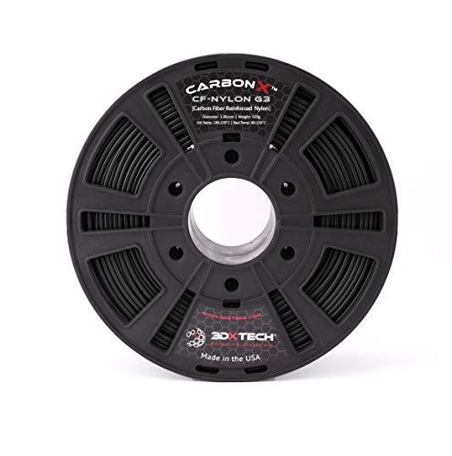 CARBONX GEN 3 Carbon Fiber Nylon 3D Printing Filament, 2.85mm, 500G