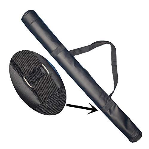 IDE Con Tote Schläger-Tasche Baseballschläger Tasche - Rucksack für Baseball, Softball-Ausrüstung,Schwarz,32'