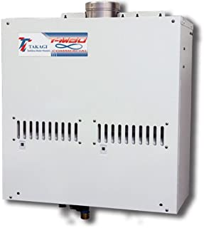 Takagi T-M50NG Heavy-Duty Commercial Natural Gas Tankless Water Heater, 14.5-Gallon Per Minute