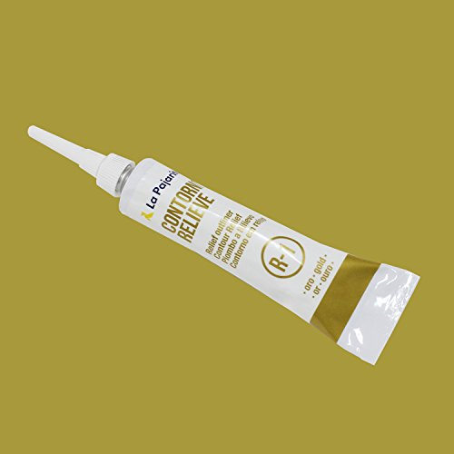 Contorno Relieve Oro 20ML La Pajarita R-1