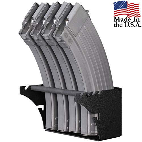 Why Choose Hold Up Displays Universal Gun Magazine Storage Wall Mount Rack for All AR10, AR15, AK47,...