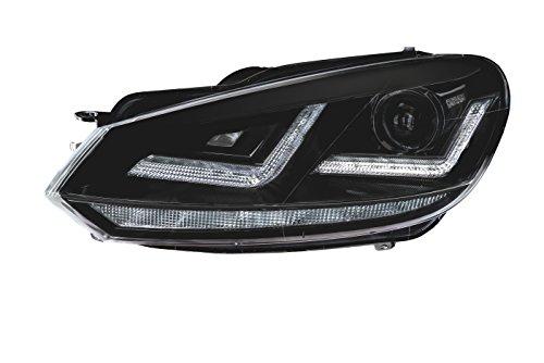 Osram LEDHL102-BK Golf 6 Xenon Koplampen, Zwart, Linkslenker, Set van 2