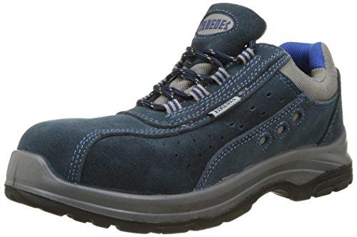 Paredes OSMIO III AZUL PAREDES SP5022-AZ/40 - Zapato seguridad negro y gris, puntera + plantilla Compact No metálica. Modelo OSMIO III AZUL. Categoría S1P HRO SRC - Talla 40