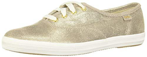 Keds Damen Champion Glitter Wildleder, Gold (champagnerfarben), 38 EU