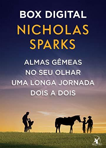 Box Nicholas Sparks: Almas gêmeas • No seu olhar • Uma longa jornada • Dois a dois