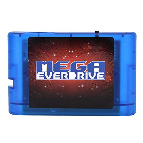 AMONIDA Cartucho de Juego 4K OSV3.6 32GB SD MD Juego para Sega Megadrive Genesis Mega Drive