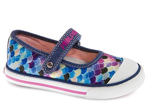 Zapatillas De Lona Niña Pablosky Azul 962421 27