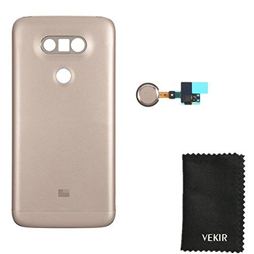 Golden H820 Batterie Tür mit Fingerprint Flexkabel Ersatz für LG G5 H850 H830 VS987 LS992 US992 F700K F700L F700S H831