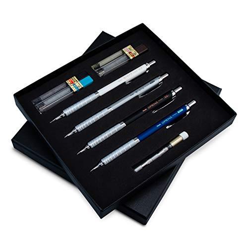 Pentel Arts Orenz Deluxe Mechanical Pencil Gift Box Set (PP1000BXSET)