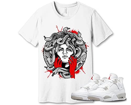 #Medusa T-Shirt to Match Jordan 4 Oreo Sneaker Snkrs Got Em Top Shoe Kick Lover Jordan 4 Oreo AMD90826