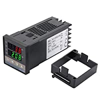 Akozon温度コントローラREX-C100FK02-V *アラーム機能付きSSR出力温度コントローラ