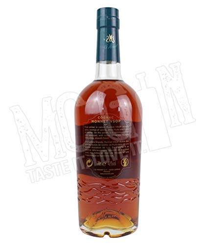 Monnet Cognac VSOP in Geschenkverpackung (1 x 0.7 l)