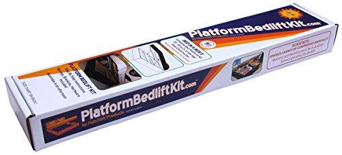 Platform Bedlift Kit (Queen-Heavy) DIY Under Bed Storage Kit