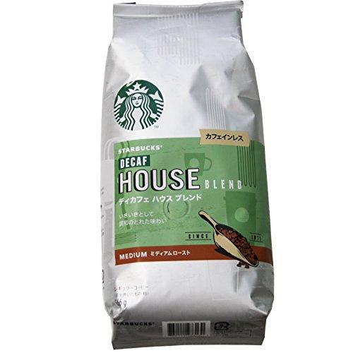 スターバックス ディカフェ ハウスブレンド 99%カフェインカット 566g STARBUCKS DECAF HOUSE BLEND
