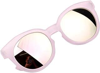 OUlike - Gafas de sol para niños y niñas, lentes brillantes, protección UV400, color caramelo, juguetes de playa, 2-8 años