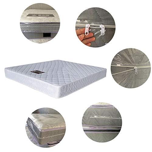 NZ Bolsa de Almacenamiento, a Prueba de Polvo, Funda de colchón Impermeable con Cremallera, Bolsa de colchón extraíble y almacenable, Bolsas para Ropa y Muebles