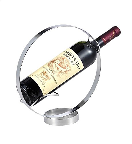 HOMEGIFT Table up Wine Rack red Wind Holder (Circular Shape)