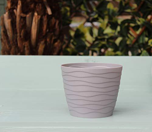 Hayloft Teo Grey pot | Indoor Pot| Flower Pot| 3 x 11cm Pots