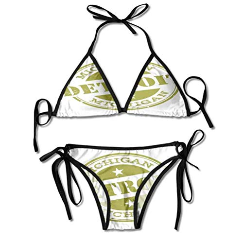 Bikini Set Majsetic Sky View Palmen und Kakteen in Oasis Marokko Tropic Nature Bright Colors