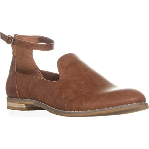 Indigo Rd. Womens Henley Closed Toe Casual Ankle Strap Sandals, Brown, Size 7.5
