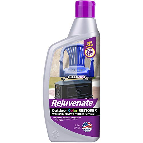 Rejuvenate Outdoor Color Restorer Instantly Restores Faded Sun-Damaged and Oxidized Possessions and Protects from Future Wear 16oz (16oz)