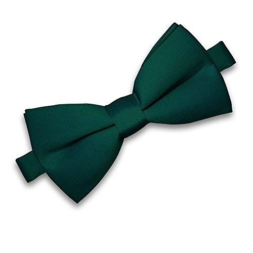 SoulCats® Noeud papillon pour homme pour mariage Noeuds réglables classiques, couleur: vert foncé