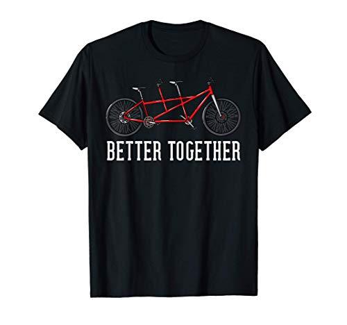 Tandem Bike Gifts Bicycle Cycling T-Shirt