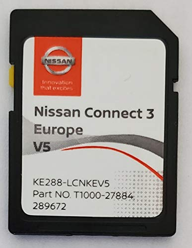 SD Karte GPS Europe 2020 v5 - Nissan Connect 3 LCN2 - (Database Q1.2019)