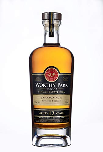 Worthy Park 12 Years Old Jamaica Rum SINGLE ESTATE 2006 56% - 700ml in Giftbox