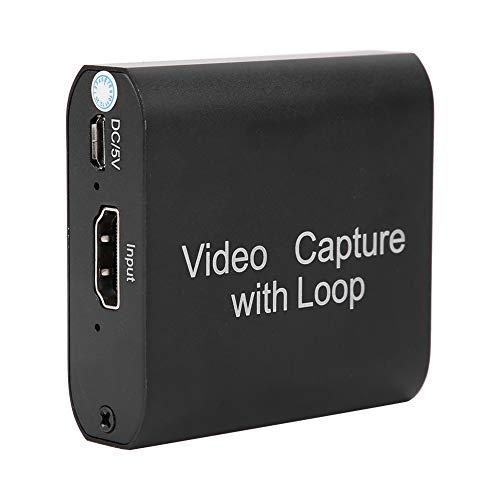 Tarjeta de captura de video, captura de video pequeño HD 1080P, imágenes portátiles para el cuidado de la salud, enseñanza, grabación, transmisión para adquisición de alta definición