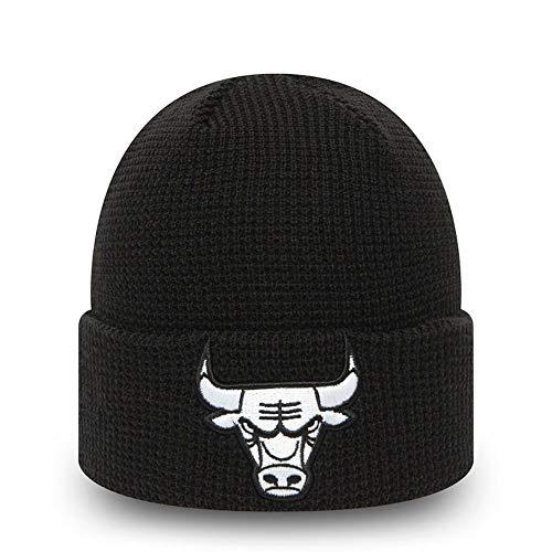 New Era Gorro Modelo NBA Team Cuff Knit CHIBUL Marca, Black, Talla única