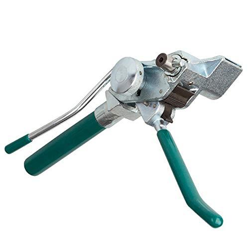 GMKD Kabelbinder Gun Zangen, bewegliche Edelstahl-Spannwerkzeug, Kabelverschraubungs Schneidewerkzeug für Cut Einzelne Kupfer, Aluminium Leiter und Kabel