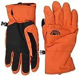 Quiksilver Men's Cross-Snowboard/Ski Gloves, pureed Pumpkin, S