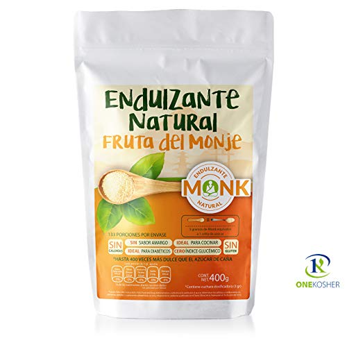 The Functional Foods Fruto del Monje Endulzante 400 gramos