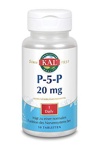 KAL P-5-P Pyridoxal-5-Phosphat 20 mg | 50 Tablets