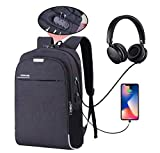 Hoteon Mobilife Business Slim Water Resistant Anti-Theft 15.6 inch Laptop Backpack with USB