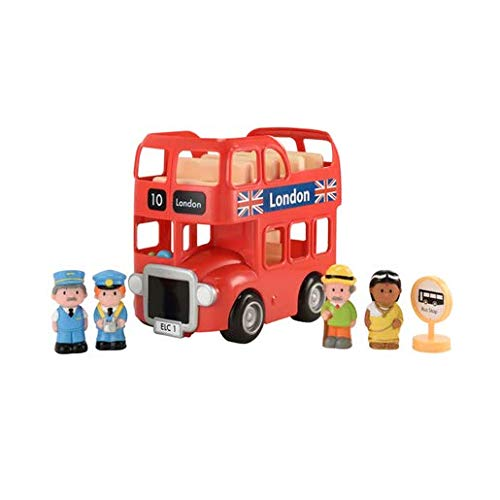 Early Learning Centre- Bus HAPPYLAND Londra, Multicolore, 149053