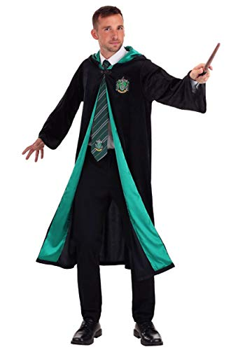 Jerry Leigh Harry Potter Adult Deluxe Slytherin Robe X-Large Black