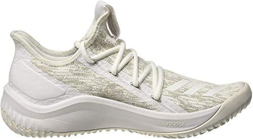 adidas Dame D.o.l.l.a, Zapatos de Baloncesto para Hombre, Blanco (Ftwwht/Greone/Grethr Ftwwht/Greone/Grethr), 48 EU