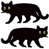 Medipaq 2X Garden Scare Cat with Reflective Marble Eyes - Cat Deterrent