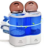 Portable Mini Washing machine,Safeplus Compact Twin Tub Washer and Spin Dryer with 9 lbs Washing 7 lbs Spin...