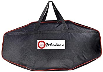 Garcima Paella Pan and Burner Set Carry Bag Fits up to 20 Inch Paella Pan with Gas Burner and Support Legs Heavy Duty Weather Resistant Material Perfect for Outdoor Camping and Picnic