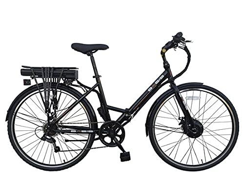 Basis Hybrid Full Size Folding Electric Bike, 700c Wheel, 9.6Ah Battery