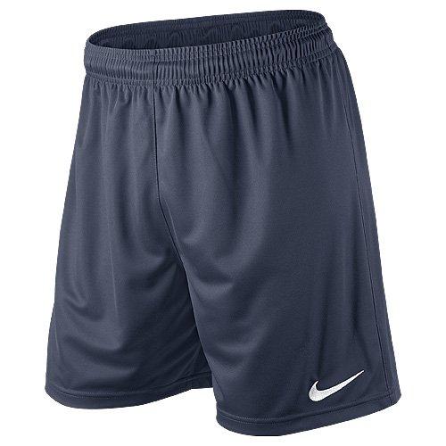 Nike Herren Park II Knit Shorts ohne Innenslip, Blau (marine/weiß), Gr. L