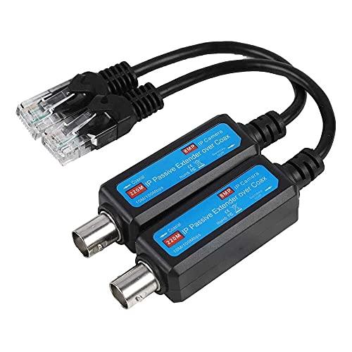 Yuyanshop Transmisor de red IP, transmisor de red práctico, para cámara de...