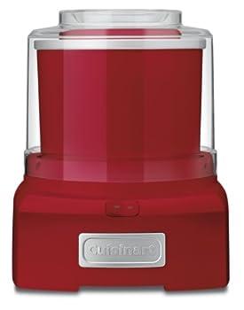 Cuisinart ICE21R Ice Cream Maker 1-1/2 qt Red